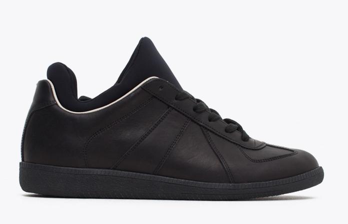 Replica Sneaker Neoprene Black (Side)