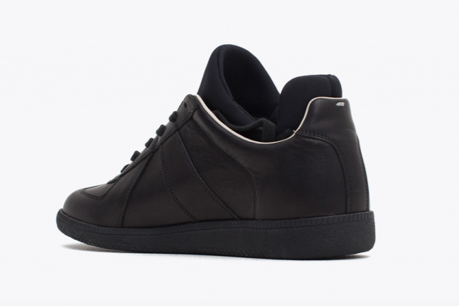 Replica Sneaker Neoprene Black (Back)