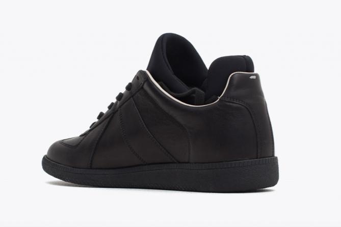 Replica Sneaker Neoprene Black (Back)